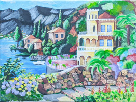 10th 12th Grade Honorable Mention Mediterranean Summer Home