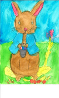 2nd 3rd Grade 2nd Place Peter Rabbit