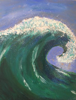 4th 6th Grade Honorable Mention Fibonacci's Wave