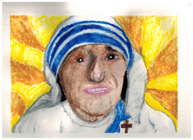 4th 6th Grade Honorable Mention Mother Teresa