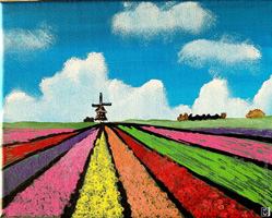 4th 6th Grade Honorable Mention Tulip Field