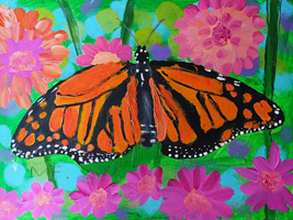 K 1st Grade 1st Place The Monarch Butterfly