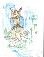 K 1st Grade Honorable Mention Peter in Mr McGregor's Garden