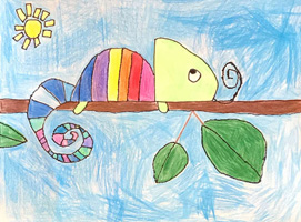 K 1st Grade Honorable Mention The Hungry Rainbow