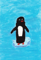 K 1st Grade Honorable Mention The Penguin